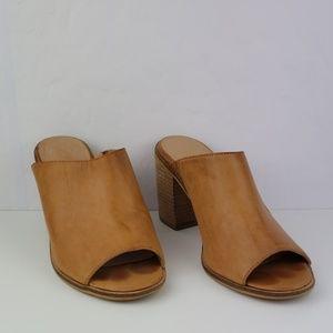Catherine Malandrino Yamah Stacked Heel Mule